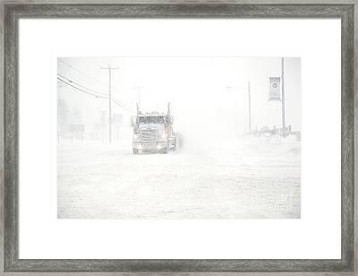 The Storm Framed Print by Sophie Vigneault