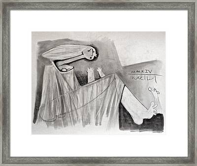 The Storm  Study Framed Print