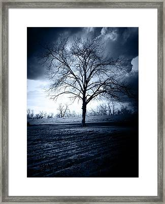 The Storm Framed Print by Susan Bordelon