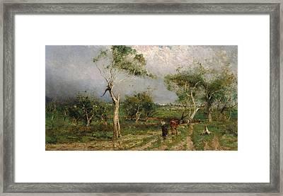 The Storm Framed Print
