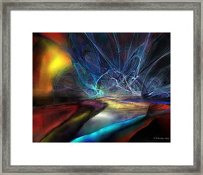 The Storm Framed Print by Wolfgang Schweizer
