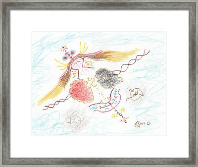 The Story Knows Best Framed Print by Mark David Gerson