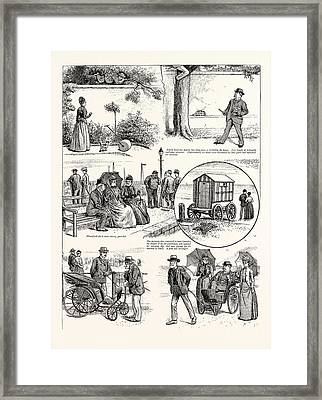 The Story Of A Seaside Elopement Edwin Loved Her Dearly Framed Print by English School