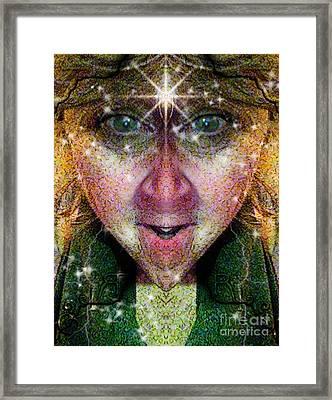 The Story Teller  Framed Print by Rhonda Strickland