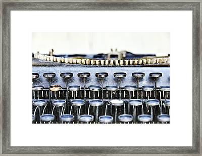 The Story Told 1 Framed Print by Angelina Vick