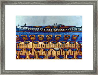 The Story Told 3 Framed Print by Angelina Vick