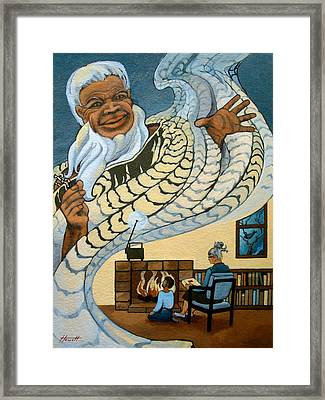 The Storyteller Framed Print by Patricia Howitt