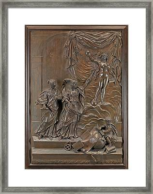 The Stowe Reliefs Allegorical Scene, Possibly Truth Framed Print by Litz Collection