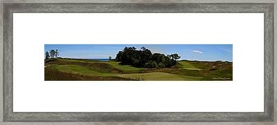 The Straits Framed Print