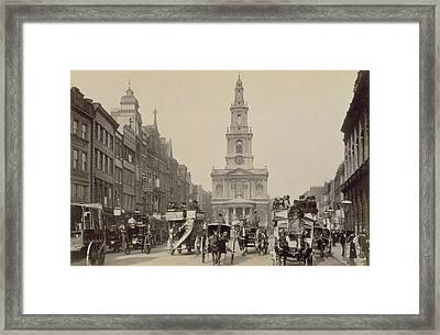The Strand Framed Print by Unknown