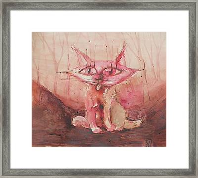 The Stranganian Tiger  Framed Print by Dilyan Bakalski