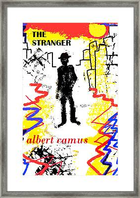 The Stranger Albert Camus Poster Framed Print by Paul Sutcliffe