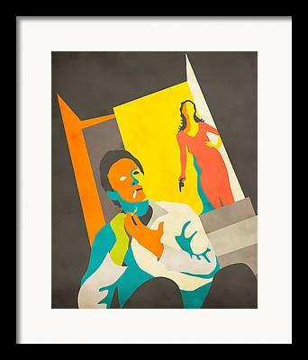 Colourful Surrealist Framed Prints
