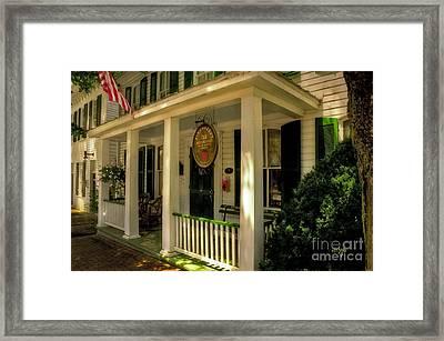 The Strawberry Inn Framed Print by Lois Bryan