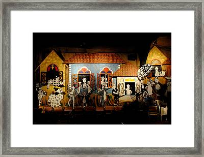 The Street Life Framed Print by Vijinder Singh