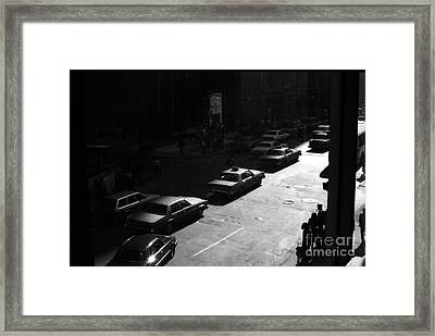 The Street Framed Print by Steven Macanka