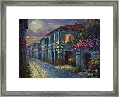 The Street We Used To Know Framed Print