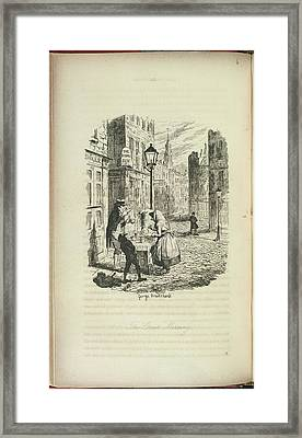 The Streets Framed Print by British Library