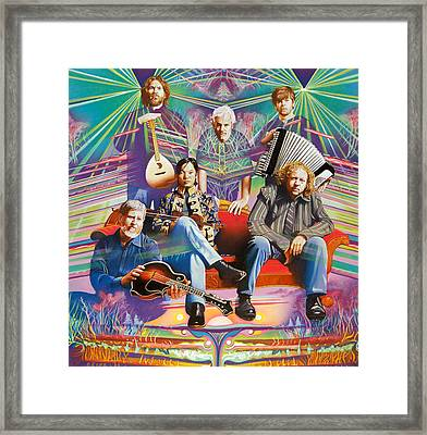 The String Cheese Incident At Hsmf Framed Print by Joshua Morton