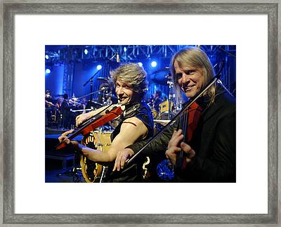 The String Section Framed Print by Don Olea
