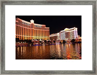The Strip Framed Print
