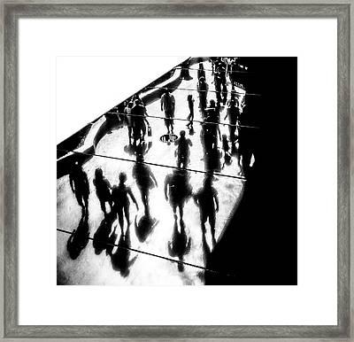 The Strip Framed Print