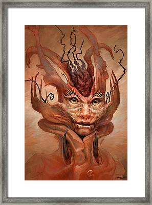 The Student Framed Print by Ethan Harris