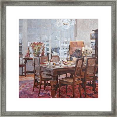 The Studio Framed Print by Anke Classen
