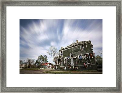 The Stuffed Animal Doll House At The Heidelberg Project - Detroit Michigan Framed Print by Gordon Dean II