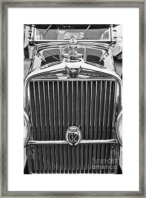 The Stutz Classic Car Front End At The Concours D Elegance. Framed Print by Jamie Pham