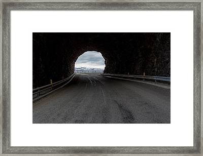 The Sudavik Tunnel, Sudavik, West Framed Print by Panoramic Images