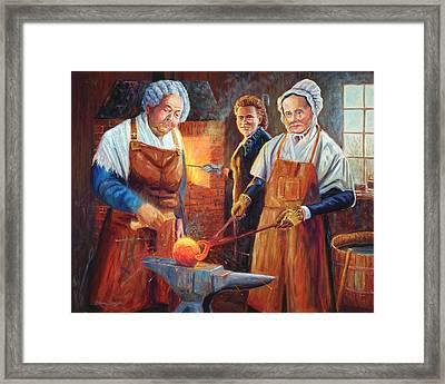 The Suffragists Framed Print by Steve Simon
