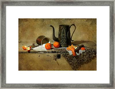 The Sugar Bowl Framed Print by Diana Angstadt