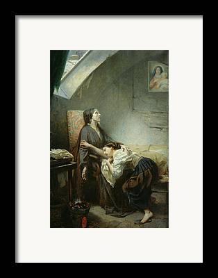 Destitute Framed Prints