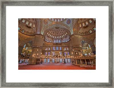 The Sultanahmet Mosque Istanbul Framed Print