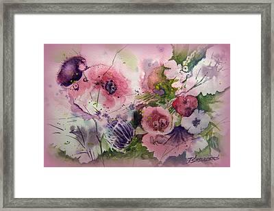 The Summer Garden Framed Print