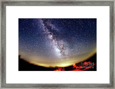 The Summer Milky Way Framed Print