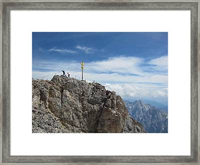 Framed Print featuring the photograph The Summit by Pema Hou