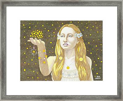 The Summoning Framed Print by Jack Puglisi
