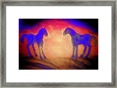 The Sun Also Rises And A New Day Will Come  Framed Print