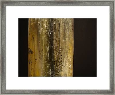 The Sun Came Out Framed Print
