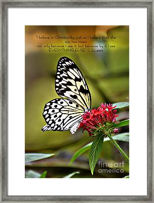 The Sun Has Risen Framed Print by Diane E Berry