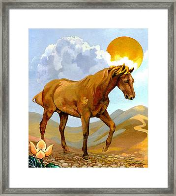 The Sun King Framed Print by Patricia Howitt