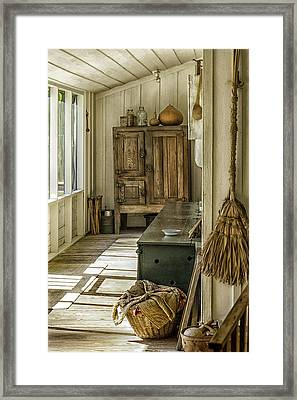 The Sun Room Framed Print