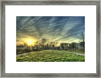 The Sun Shines Through Framed Print