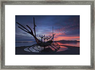 The Sun Voyager ... Framed Print by Iurie Belegurschi