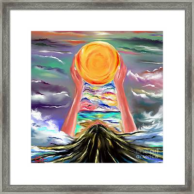 The Sun Will Shine Again Framed Print by Lori  Lovetere