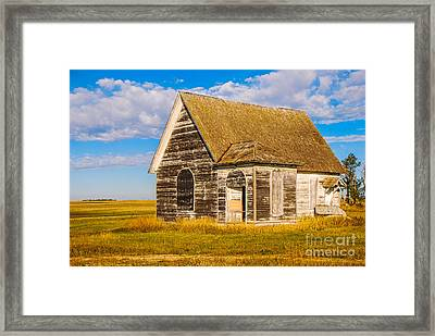 The Sunbeam Church Framed Print
