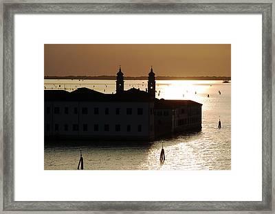The Sunken City Framed Print