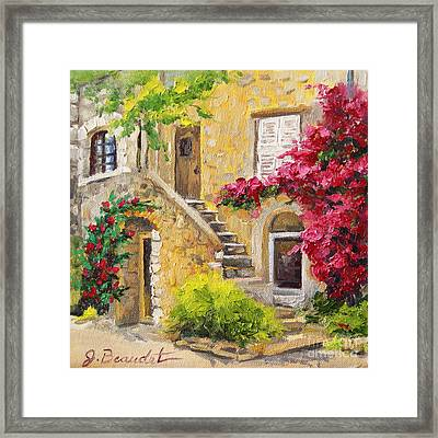 The Sunny Side Framed Print by Jennifer Beaudet